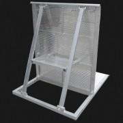大型演出用铝合金防护栏隔离栏厂家直销防爆栏