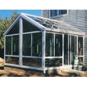 钢化玻璃盖顶--阳光房